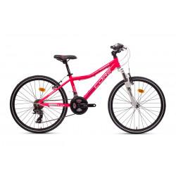 """Core 24"""" vidlice M-3020, 3x6 Revo, růžová 11,6kg."""